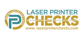 Laser Printer Checks Logo